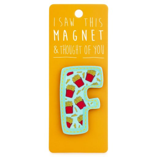 I saw this Magnet and .... - MA026 - Letter F