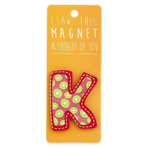 I saw this Magnet and .... - MA031 - Letter K