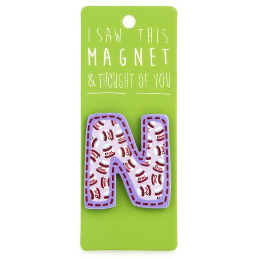 I saw this Magnet and .... - MA034 - Letter N