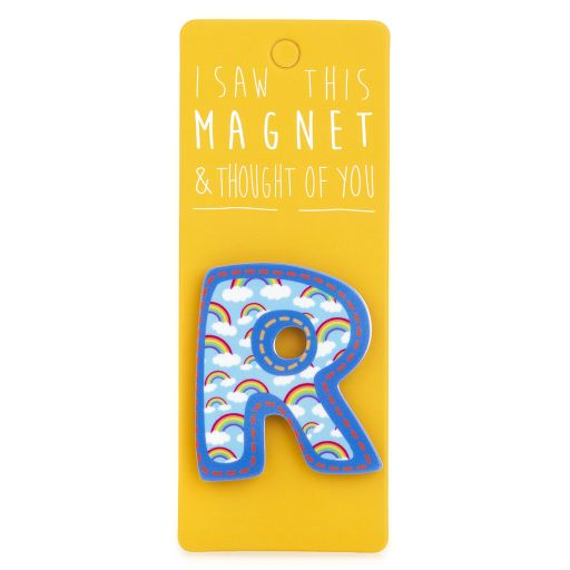 I saw this Magnet and .... - MA037 - Letter R