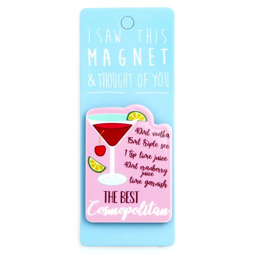 I saw this Magnet and .... - MA054 - Cosmopolitan