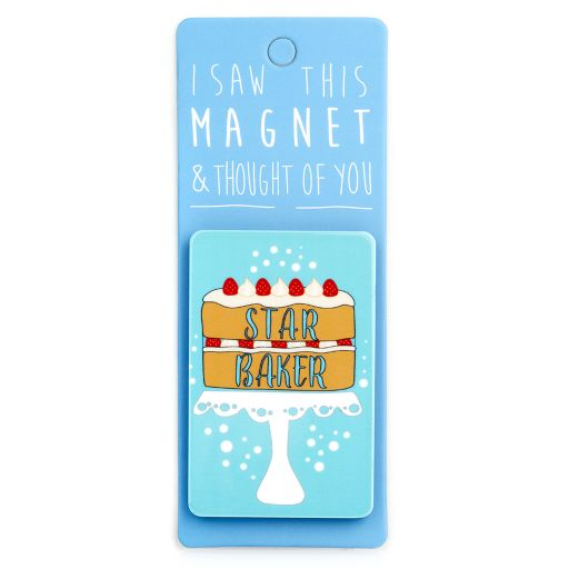 I saw this Magnet and .... - MA058 - Star Baker